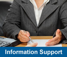 INformation Support Button