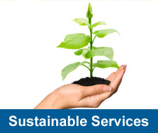 Sustainable Services Button